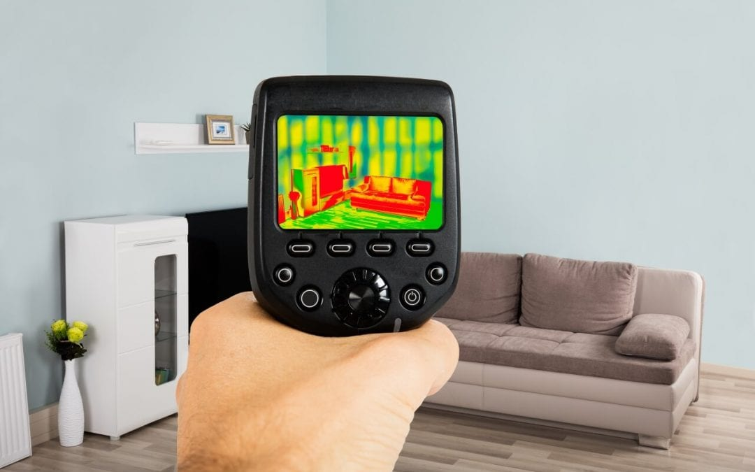 thermal imaging in home inspections provides heat signatures of areas of the home